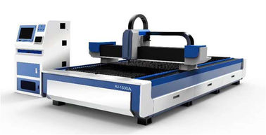 Double Drive 500W Fiber Laser Engraving Machine Easy To Push Materials